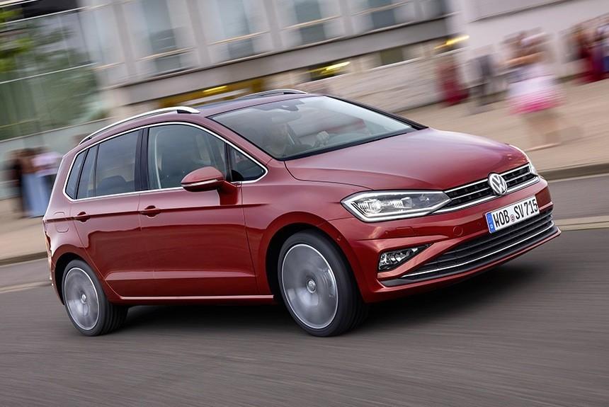 VW продемонстрировал обновлённый компактвэн Golf Sportsvan