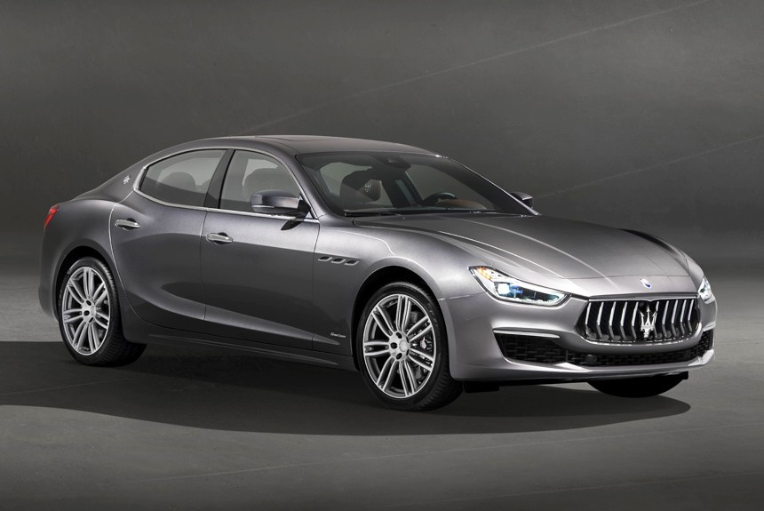 Автостат: В РФ растут продажи авто Maserati