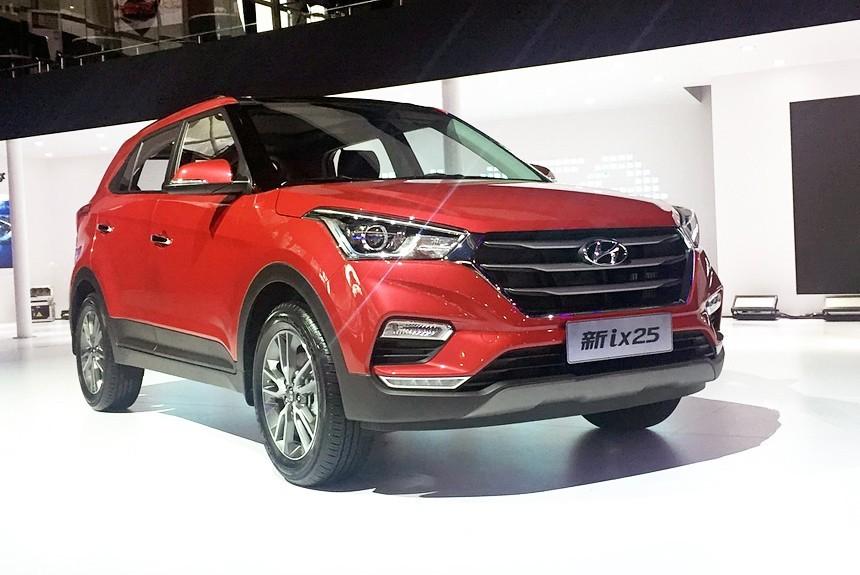 Обновленный кроссовер Hyundai ix25: как изменилась китайская Creta?