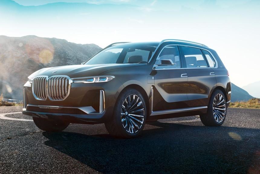 9ad6d3f778286 Представлен большой кроссовер BMW Concept X7 iPerformance — Авторевю