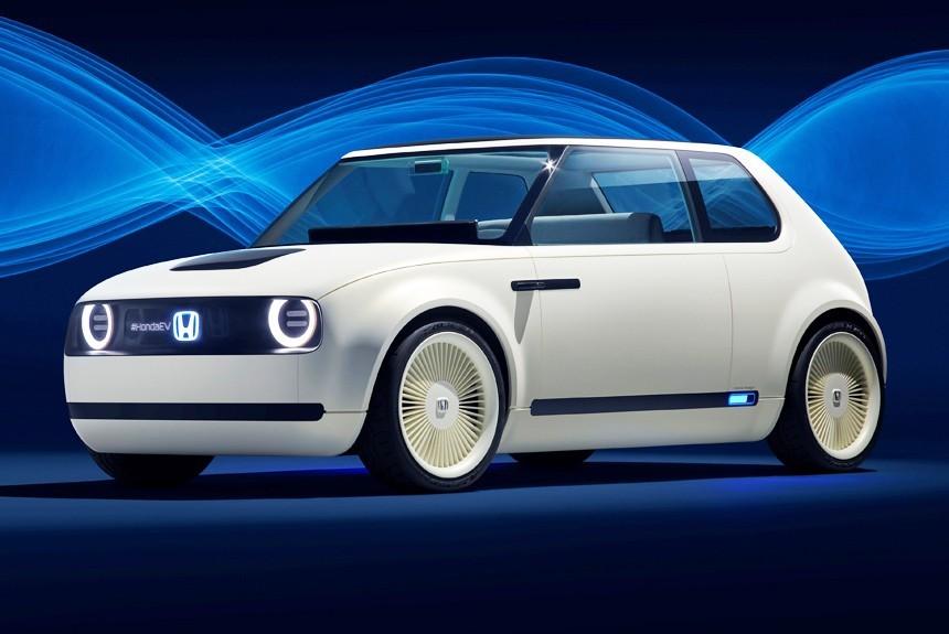 Honda представила во Франкфурте концепт возрожденного хэтчбека City - Honda