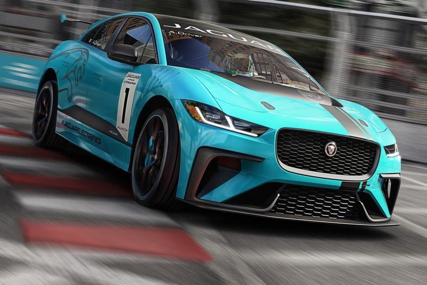 Jaguar запускает гоночный монокубок на электромобилях