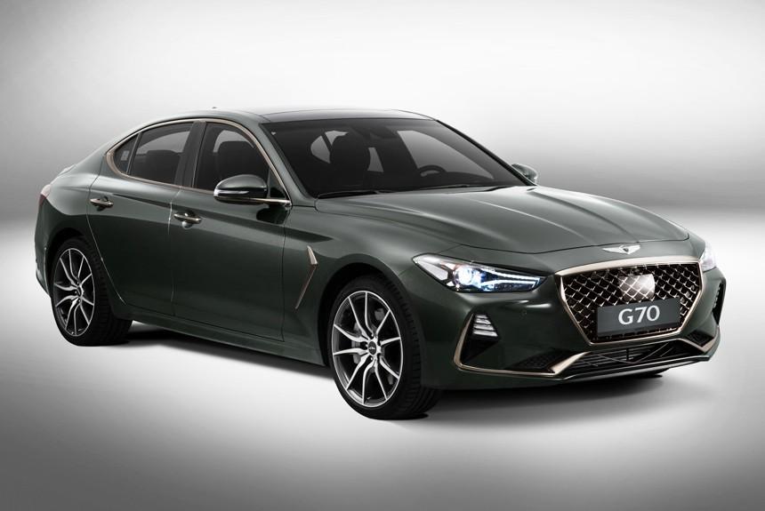 Хёндай официально представил чудный седан Genesis G70
