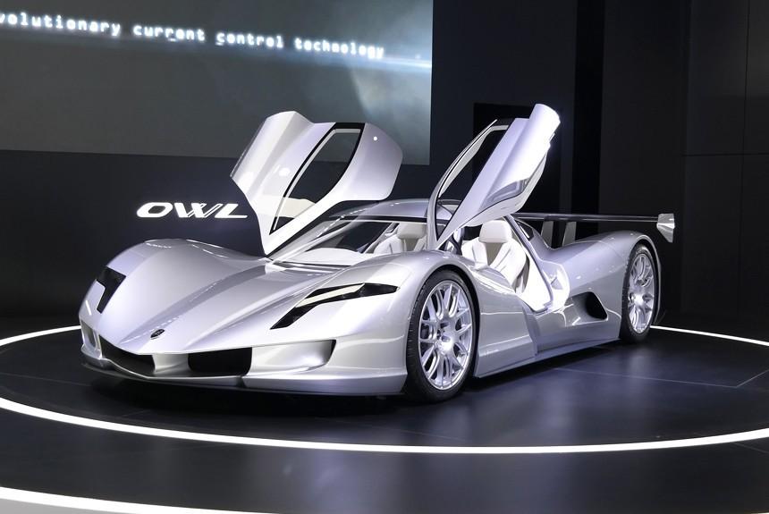 Наавтомобильной выставке вГермании представили самый быстрый автомобиль вмире