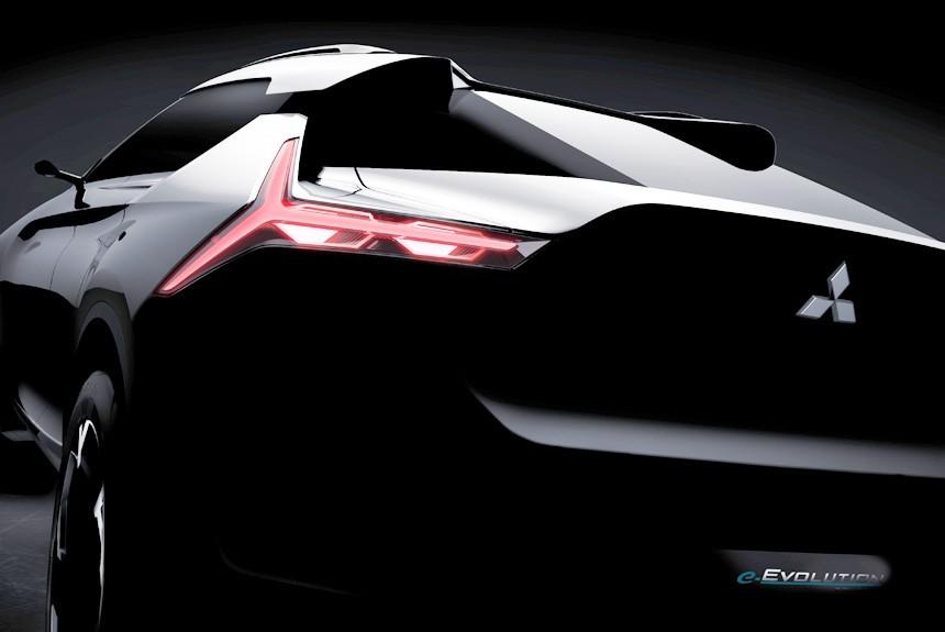 На автосалоне в Токио представят Mitsubishi e-Evolution