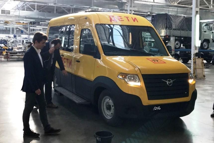 Гибридный УАЗ «Профи» покажут в 2018-ом