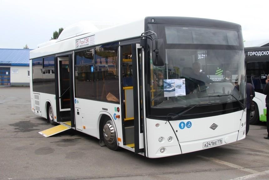 Газ на МАЗ: в Набережных Челнах переделали белорусский автобус