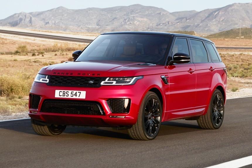 В Российской Федерации начались продажи нового Range Rover Velar