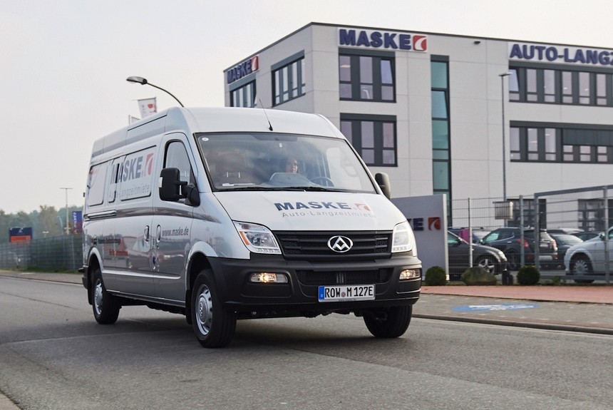Maxus возвращается в Европу — в образе электрофургона