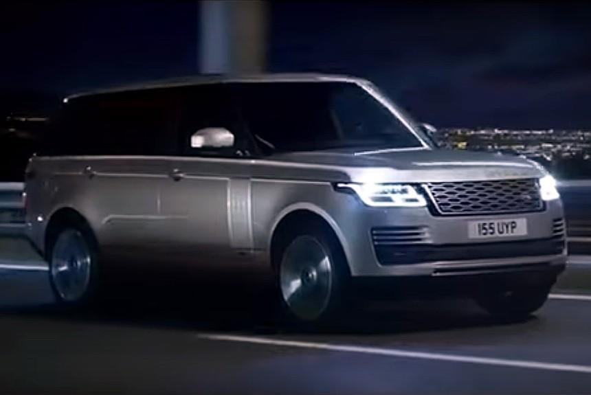 Обновленный Range Rover первое