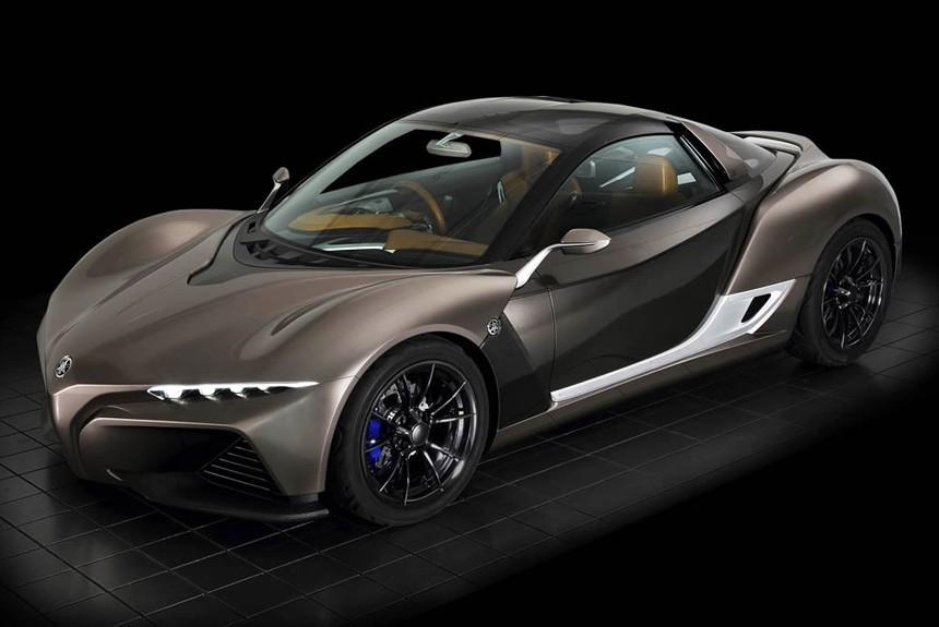 Yamaha привезет наТокийский автосалон новый концептуальный автомобиль