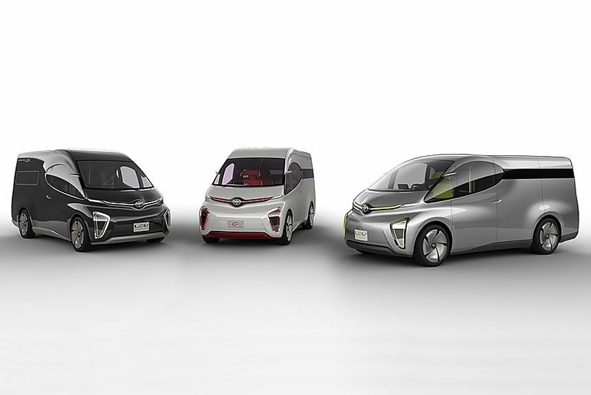 Особое подразделение Тоёта покажет вТокио «чудо-капсулу» икоммерческие фургоны будущего