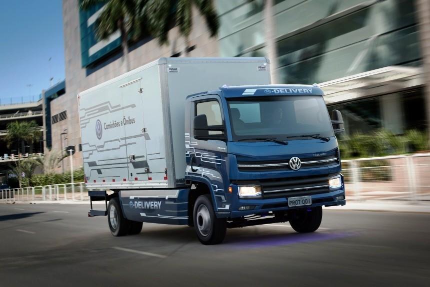Электрогрузовик Фольксваген E-Delivery выйдет в 2020-ом
