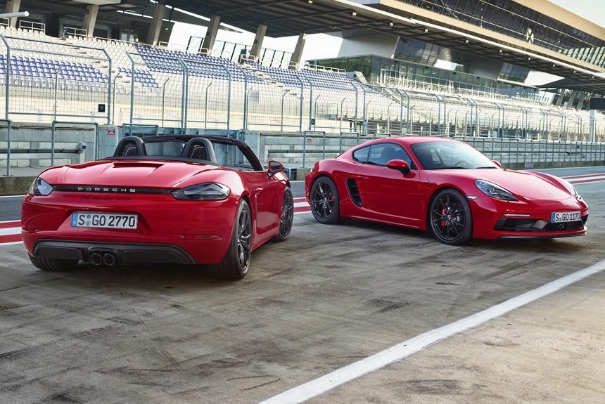 Новые Porsche 718 GTS официально представлены