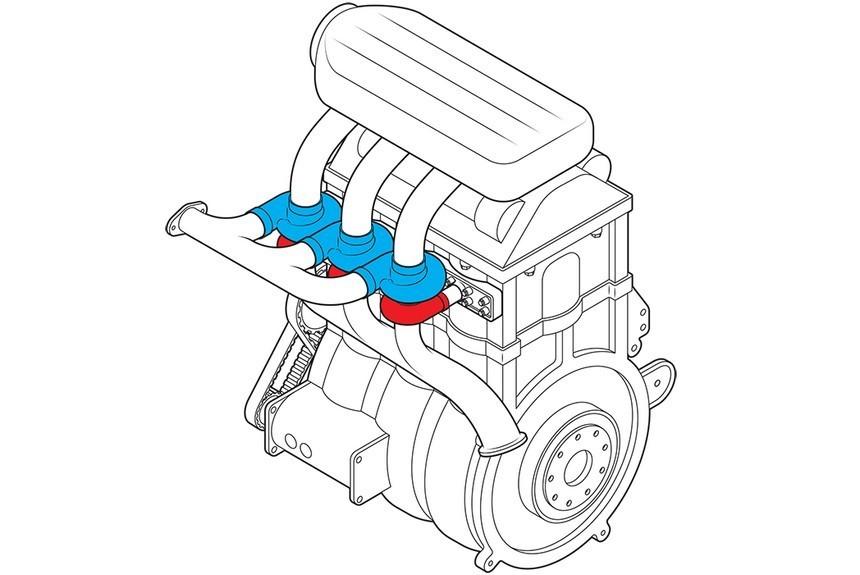 Прошлый инженер Форд разработал концептуальный автомобиль наддувного мотора обновленного типа