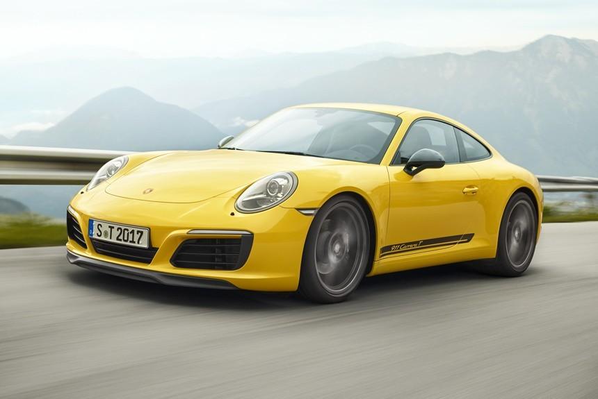 Порш разработало новейшую версию модели 911 Carrera