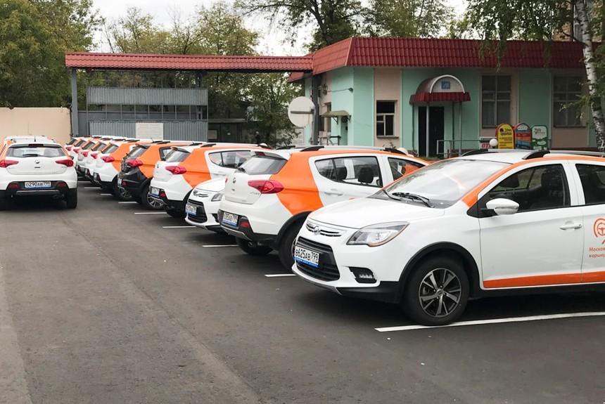 В столицеРФ запустили каршеринг LifCar скитайскими автомобилями