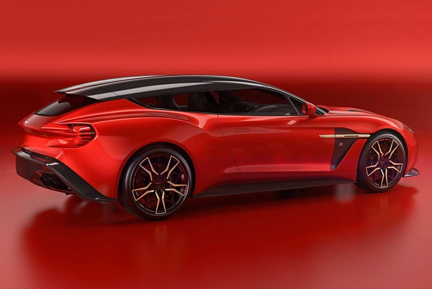 Астон Мартин  представил универсальный суперкар Vanquish SShooting Brake