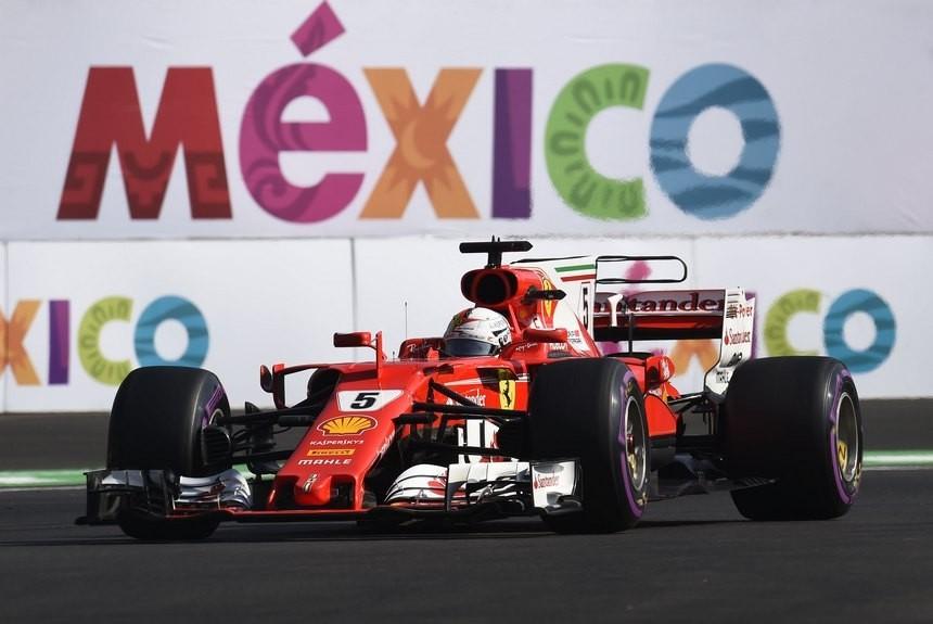 Феттель стал победителем квалификации Гран-при «Формулы-1» вМексике