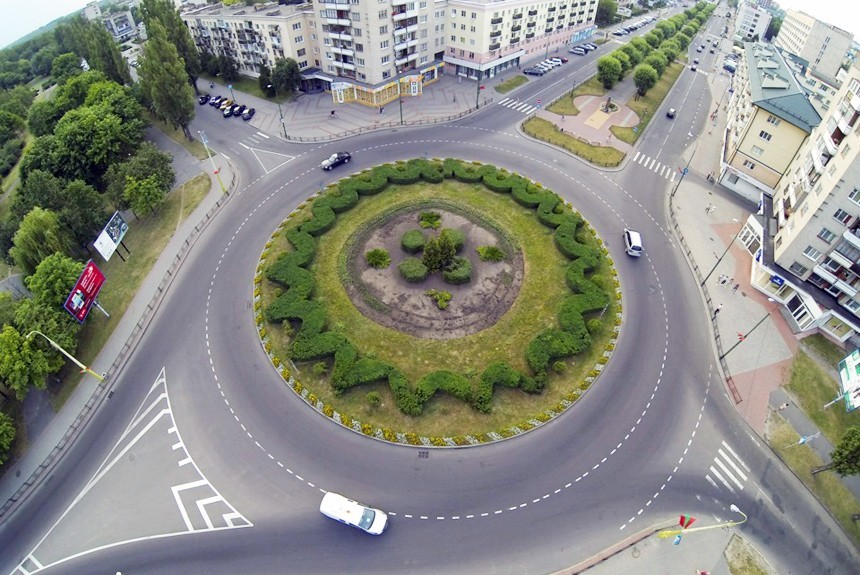 Правило движение на перекрестках в картинках и проезда