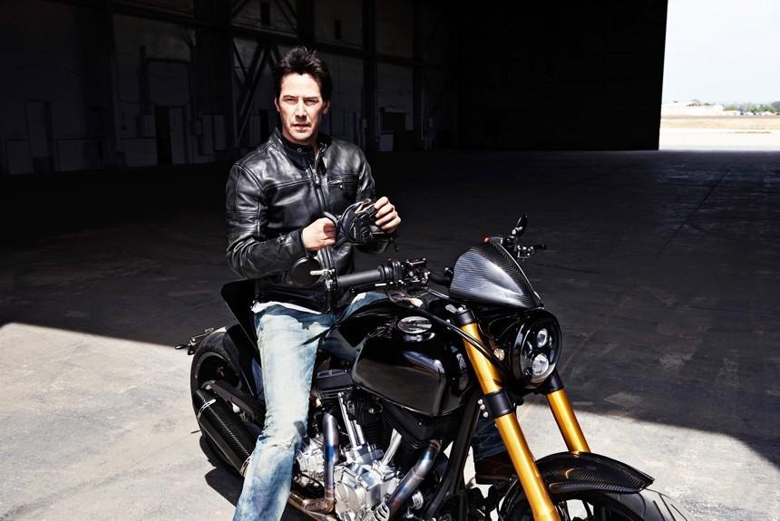 Киану Ривз представил три новых мотоцикла Arch