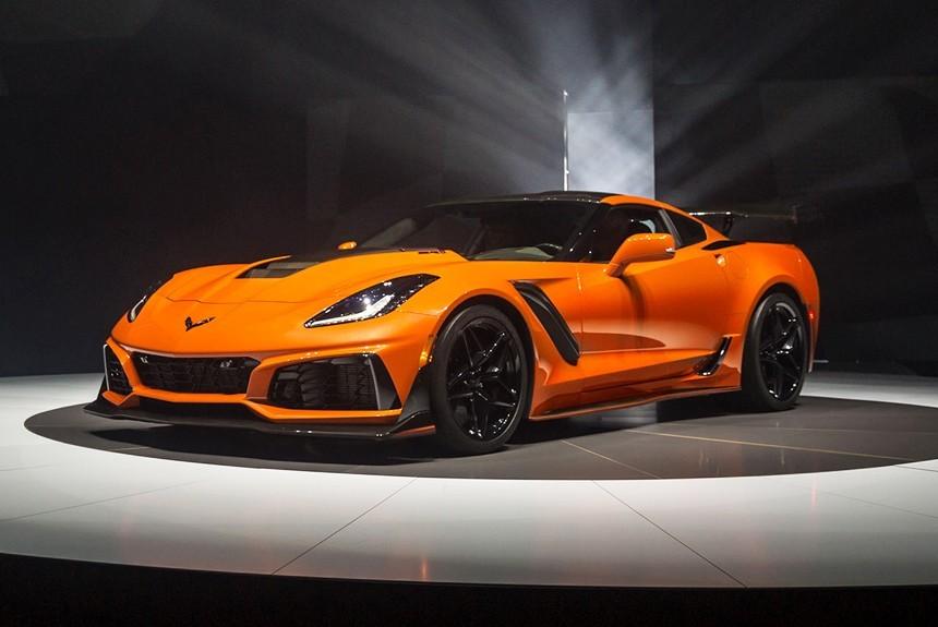 ВДубае представили 755-сильный Chevrolet Corvette ZR1