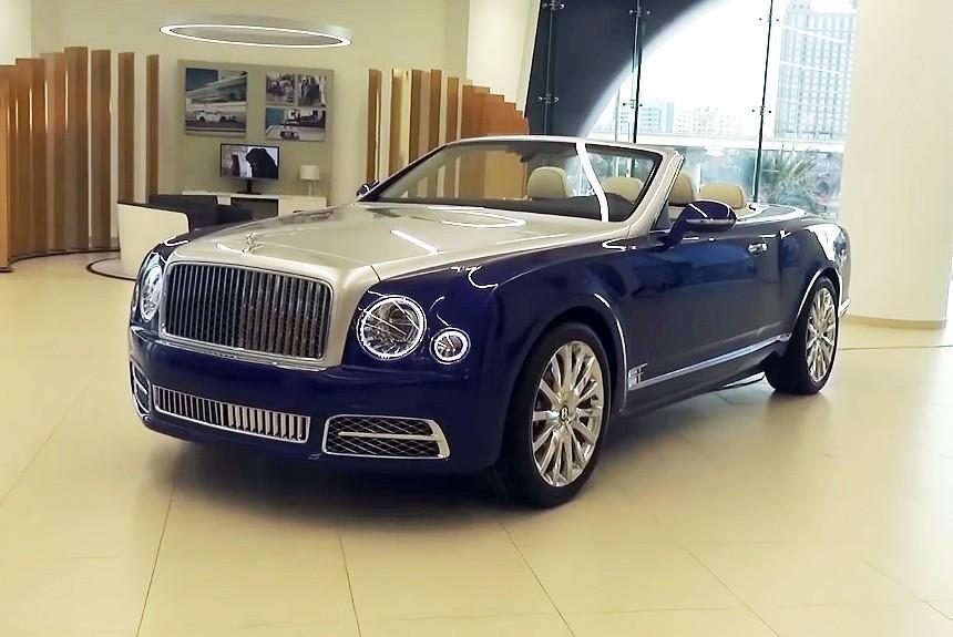 Внезапно Bentley Grand Convertible и тихая премьера в Дубае