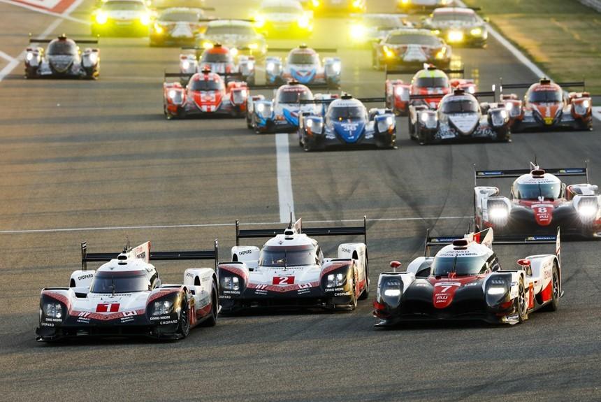 Сенна, Лауда и другие чемпионы: в Бахрейне завершился сезон FIA WEC