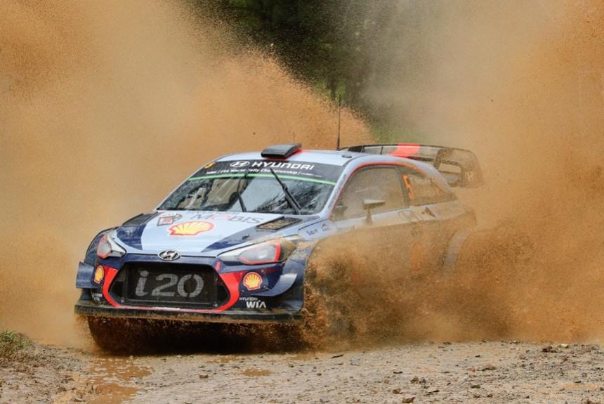 Гол престижа. Тьерри Невилль завершил сезон WRC победой в ралли Австралия