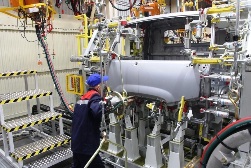 Сборочный конвейер хендай схема вибрационного конвейера
