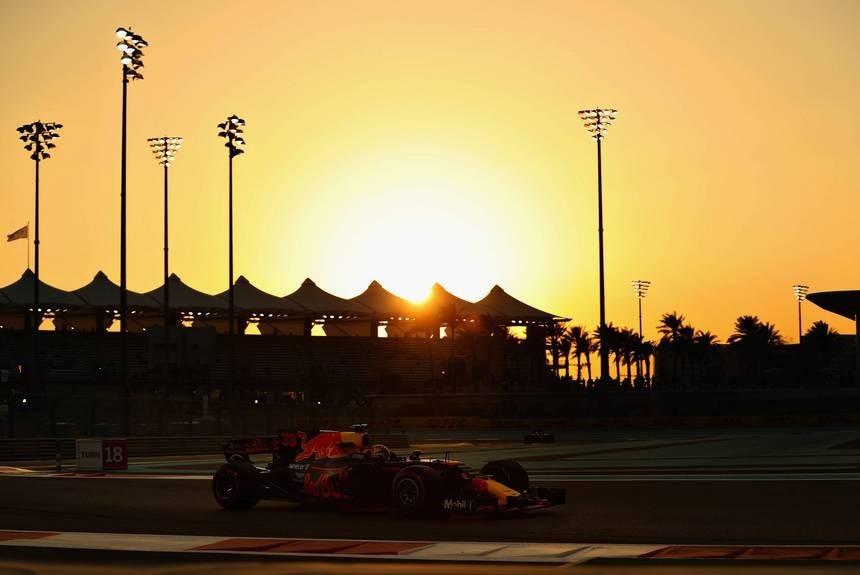 Без хвостов и радуги. Квалификация Гран При Абу-Даби