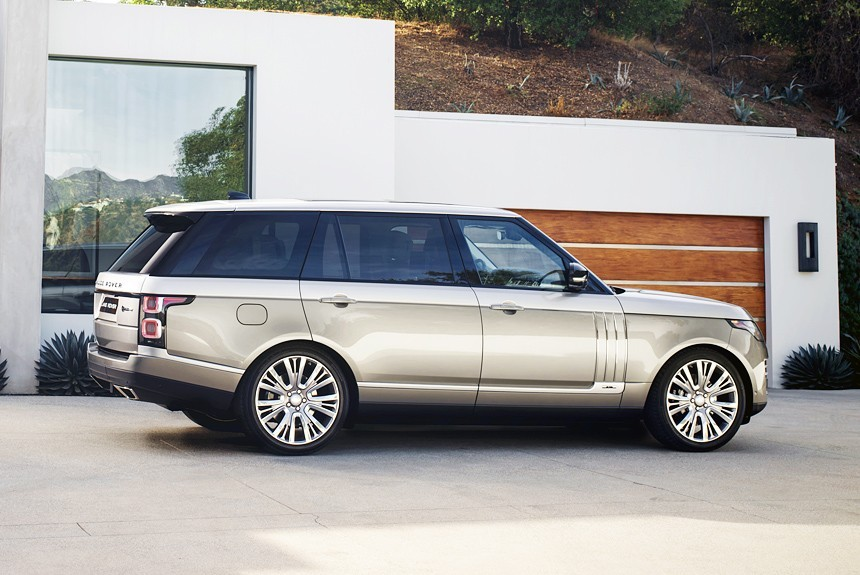 Англичане обновили самый чудный Range Rover— SVAutobiography