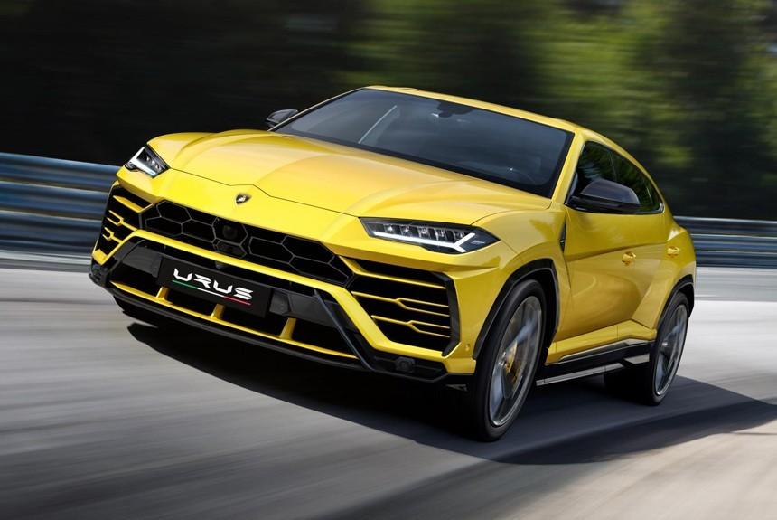 Lamborghini продемонстрировал самый быстрый вмире вседорожный автомобиль