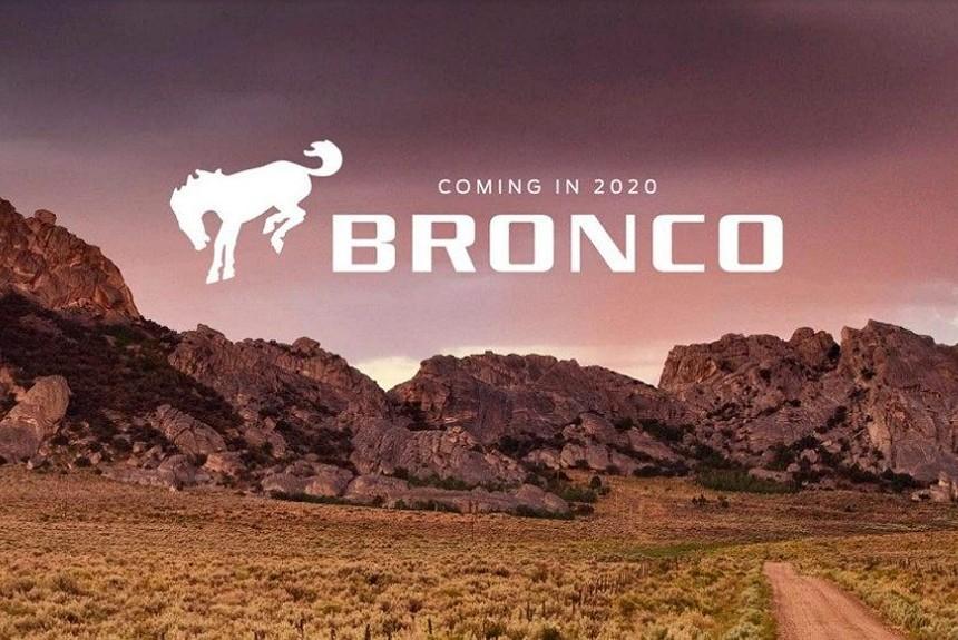Форд  подтвердил появление Bronco в 2020г