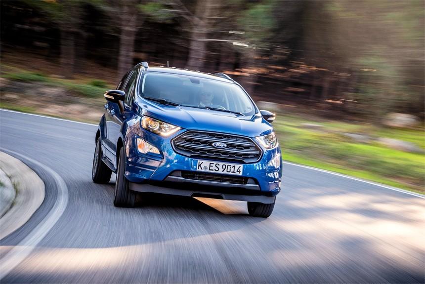 Обновленный Ford EcoSport в руках Олега Растегаева