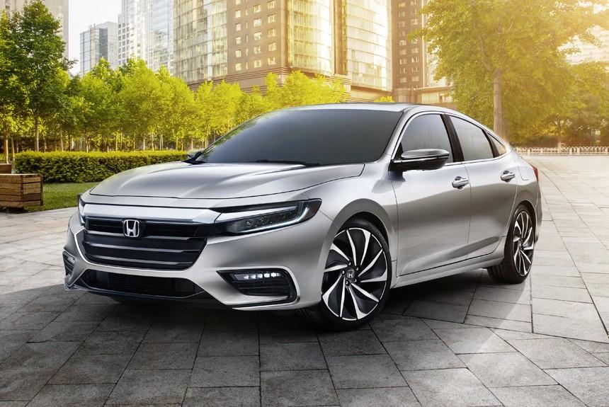 Новый седан Honda Insight расположится между Сивиком и Аккордом