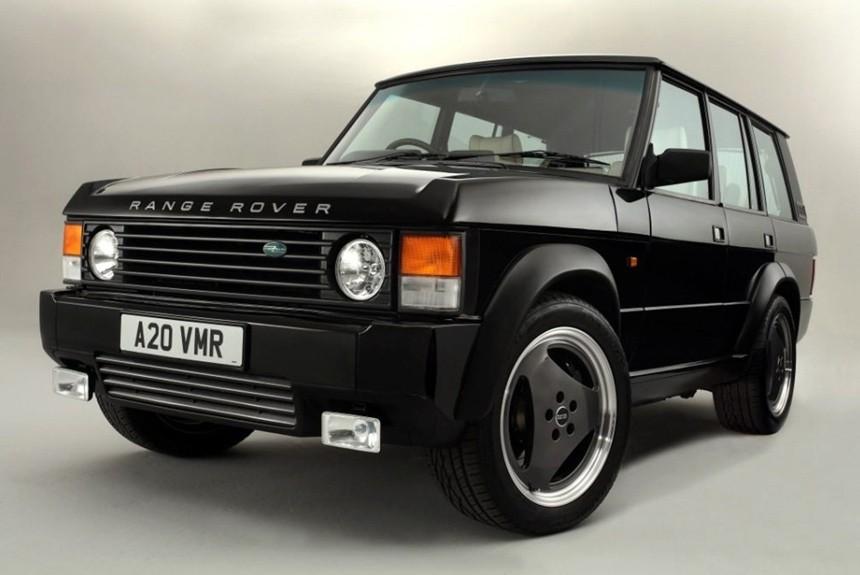 Традиционный Range Rover получил мотор отзаряженного кадилак