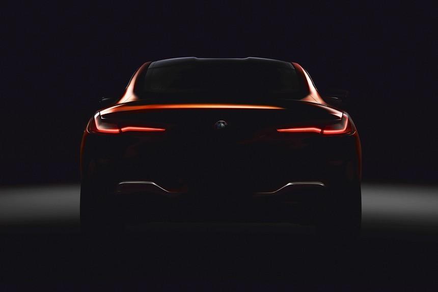 БМВ показала как будет выглядеть возрожденное купе 8-Series