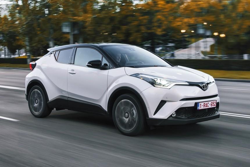 Кроссовер Toyota C-HR выйдет на российский рынок