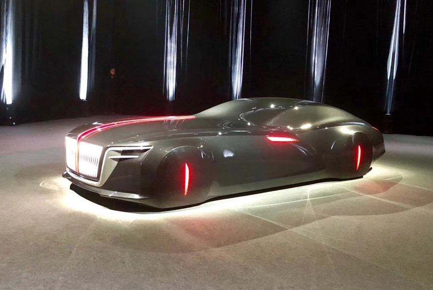 Китайская марка Hongqi построила купе встиле Mercedes-Maybach 6