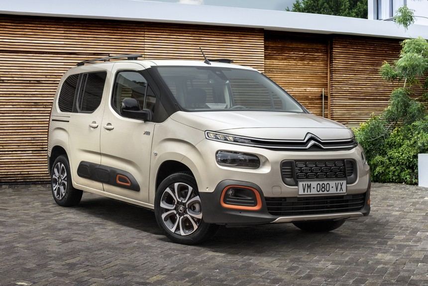 Новый Citroen Berlingo дебютировал в двух версиях