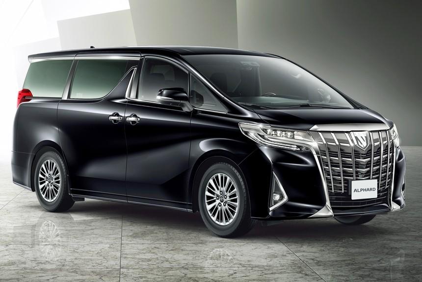 Новый минивэн Тойота alphard выходит на русский рынок
