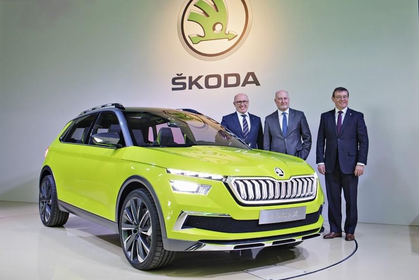 Skoda выпустит 19 новых моделей за три года