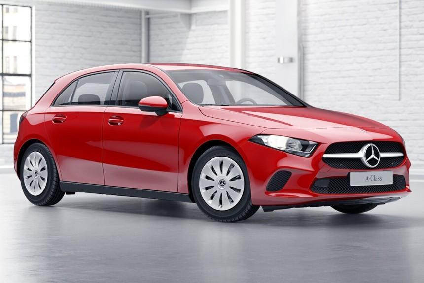 Mercedes озвучил рублевые цены нановый A-Class