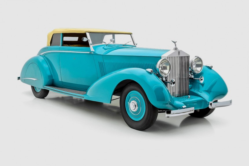 Что в гараже у магараджи? Rolls-Royce Phantom III Thrupp & Maberly Disappearing Roof Drophead 1937 года