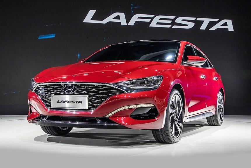 Седан Hyundai Lafesta: первая информация