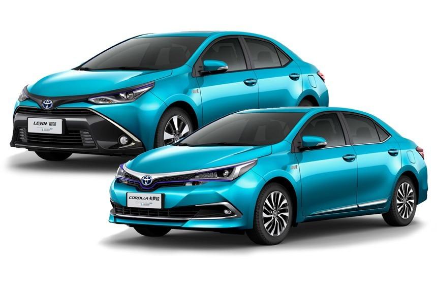 Седаны Toyota Corolla и Levin пошли по стопам Приуса