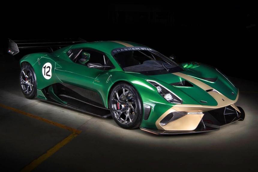 Австралийский суперкар Brabham BT62 возродил знаменитое имя