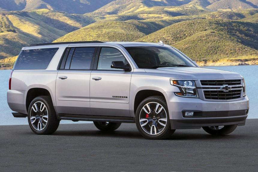 Гиганту Chevrolet Suburban RST добавили прыти