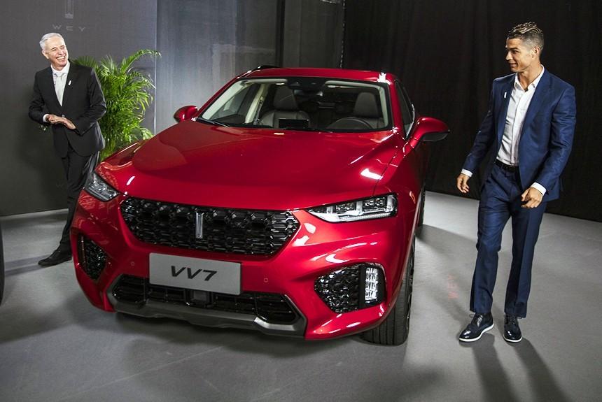 Криштиану Роналду будет амбассадором китайского премиального бренда WEY